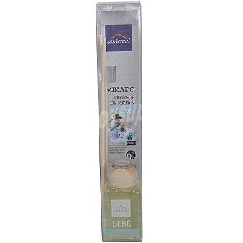 CASACTUAL Mikado Ambientador en varillas aromáticas Bebé 18 ml