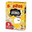 Palomitas zero microondas Caja 3 uds 100 gr Popitas Borges