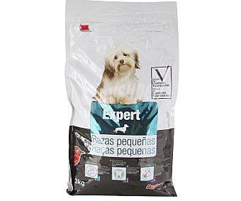 Auchan Expert Alimento completo con pollo y arroz especial para perros de razas pequeñas 3 kilogramos