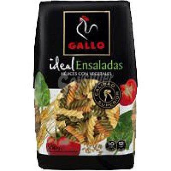 Gallo Helices con vegetales Paquete 500 g + 10%