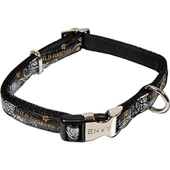 Nayeco Colección Envy Wild for ever collar para perro color negro medidas 26-40 cm x 1,5 cm 1 unidad