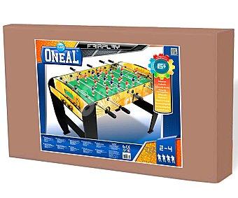 ONEAL Futbolín de madera, 122x64x79 centímetros 1 unidad