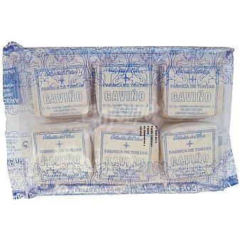 GAVIÑO Cortadillos Cidra tortas de aceite Paquete 300 g