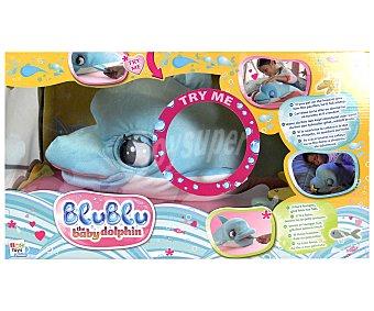 IMC Muñeco Defín Bebé de Peluche Blublu Peluche Delfín Blublu