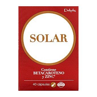 Deliplus Capsulas programa solar (preparacion piel) con betacaroteno y zinc Caja 40 u