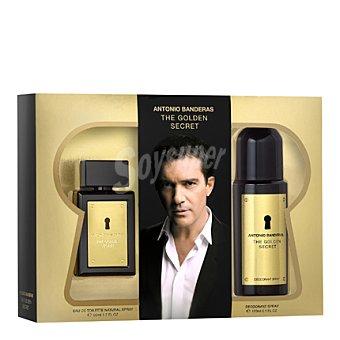 Antonio Banderas Estuche colonia The Golden Secret spray 50 ml. + desodorante 150 ml. 1 ud