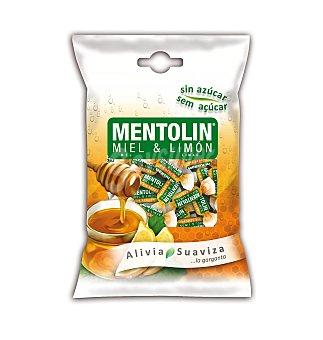 Mentolín Caramelos de miel y mentol Bolsa 115 g