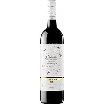 Habitat Vino tinto garnacha syrah D.O. Cataluña ecológico Botella 75 cl