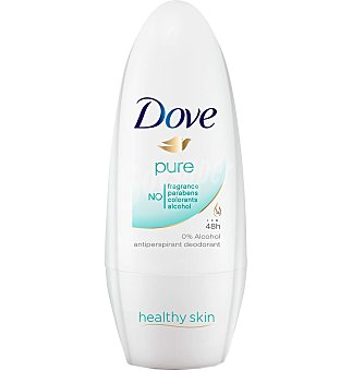 Dove Desodorante roll-on pure 50 ML