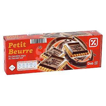 DIA Galleta con tableta de chocolate negro Paquete 150 grs
