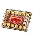 Surtido de bombones (12 Ferrero Rocher, 10 Mon Cheri, 3 Pocket Coffe y 3 Kusschen) Estuche 319 g Ferrero