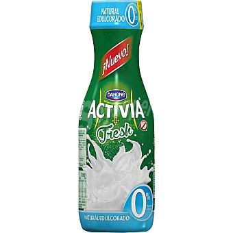Activia Danone Yogur para beber fresh 0% grasa sabor natural edulcorado Danone 550 g