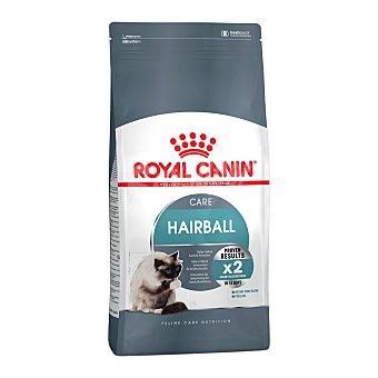 Royal Canin Hairball care pienso especial para gatos adultos a partir de 1 año ayuda a reducir la formación de las bolas de pelo Bolsa 2 kg