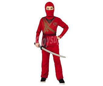 Rubie's Disfraz infantil Skull Ninja Rojo, talla S, 3-4 años,