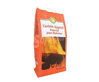 PRODUCTO ECONÓMICO Carbón vegetal especial barbacoas 3kg alcampo 3kg