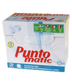 Puntomatic Detergente pastillas ropa blanca 24 lavados 48 ud
