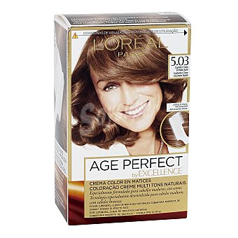 Excellence L'Oréal Paris Tinte age perfect nº 5.03 Castaño Claro Dorado Sutil 1 ud
