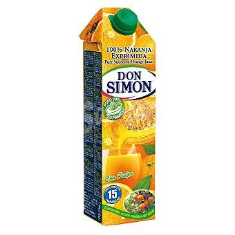 Don Simón Zumo exprimido naranja sin pulpa Brik 1 l