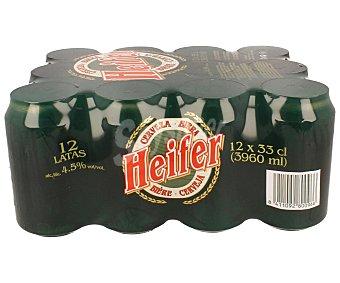 Heifer Cerveza Pack 12 x 33 cl