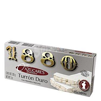 1880 Turrón duro con almendra Marcona 200 g