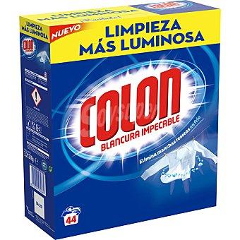 COLON detergente máquina polvo  maleta 44 cacitos