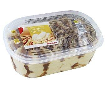 Auchan Tarrina de helado de turrón 850 ml