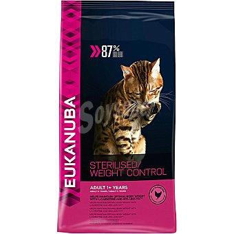 Eukanuba Sterilised light adult pienso completo para gatos adultos +1 año esterilizados Bolsa 1,5 kg