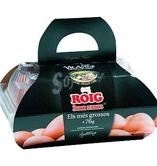 Roig Huevos xl + etiqueta negra 6 unidades 76 g