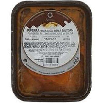 Ameztoi Pimiento relleno de bacalao en salsa bandeja 300 g