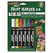 Rotuladores Paint Marker Colores 6 ud Alpino