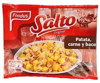 FINDUS SALTO ORIGINAL Salteado de patata con ternera y bacon bolsa 400 g Bolsa 400 g