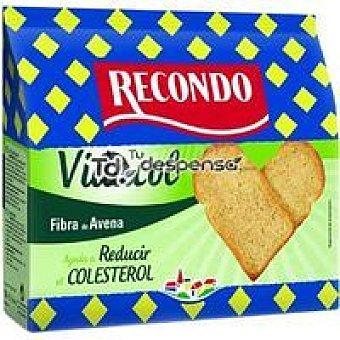 RECONDO VIDACOL Pan tostado Paquete 180 g