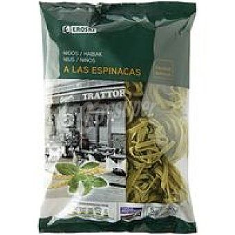 Eroski Nidos de espinaca Paquete 500 g