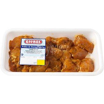 Arenas Pinchitos de pollo Bandeja 500 g