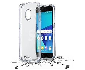Cellular Line Funda compatible con Samsung Galaxy J5 (2017) (teléfono no incluido) Clear Duo