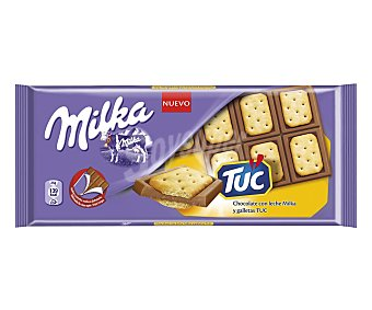 Milka Tableta chocolate con galleta Tuc 87 g
