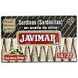 Sardinillas en aceite de oliva Lata de 88 g Javimar