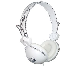 INNOVA MDR880B TRIBAL Auriculares tipo Casco Blanco, con cable