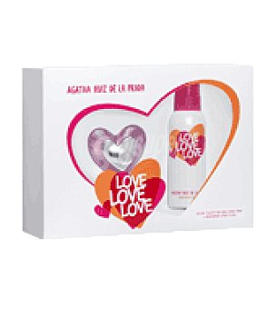 Ágatha Ruiz de la Prada Estuche Colonia Love Love 50ml. + body milk 100ml. 1 ud