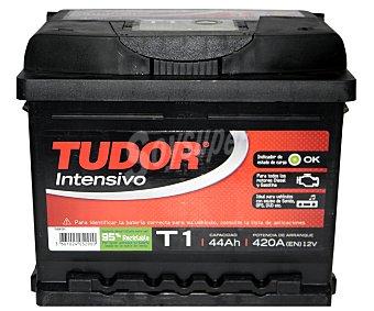 TUDOR Batería de arranque T1 12 Voltios 44Ah, potencia de arranque: 420 Amperios 1 unidad