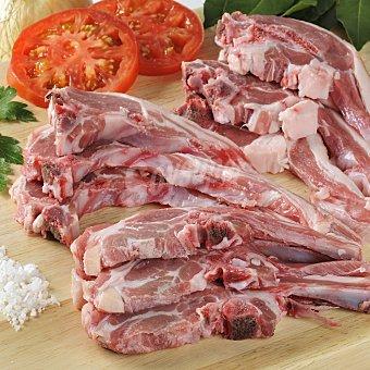 Carrefour Chuletas cordero mixtas Bandeja de 650.0 g.