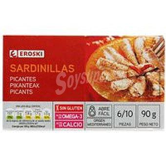 Eroski Sardinilla picante Lata 90 g