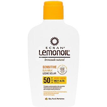 Ecran Lemonoil leche solar con aloe vera FP-50  frasco 200 ml