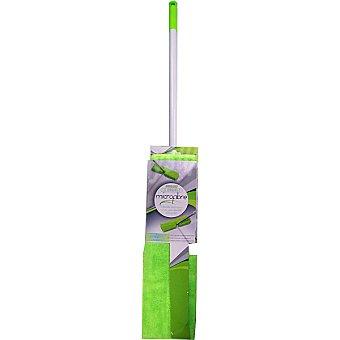 INDUSTEX mopa microfibra con palo telescópico  paquete 1 unidad