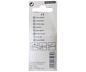 STYLE Pack de 2 enhebradores de agujas 1 Unidad