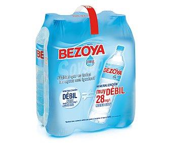 Bezoya Bezoya Agua 1.5 L (pack 6 x 1,5L) Pack 6 x 1,5L