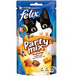 Snack gato felix party mix Original 60 GRS Purina Felix