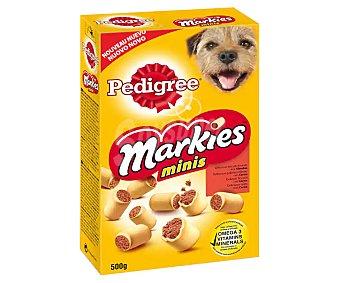 Pedigree Markies Bocaditos con sabor a carne para perros 500 gr
