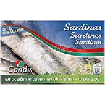 Condis Sardinas aceite oliva 120 GRS