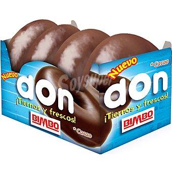 Bimbo Don cacao envase 240 g 4 unidades
